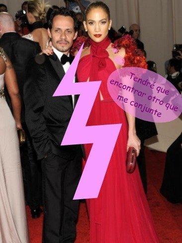 ¿Comorrrrr? ¡Jennifer López y Marc Anthony lo dejan!