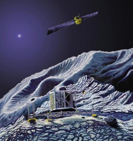 Rosetta es la sonda de la ESA encargada de estudiar los cometas y acaba de despertar para hacerlo