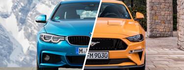 Comparativa Ford Mustang vs BMW Serie 4: ¿cuál es mejor para comprar?