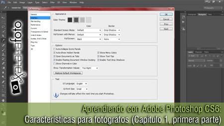Aprendiendo con Adobe Photoshop CS6: Características para fotógrafos (Capítulo 1, primera parte)
