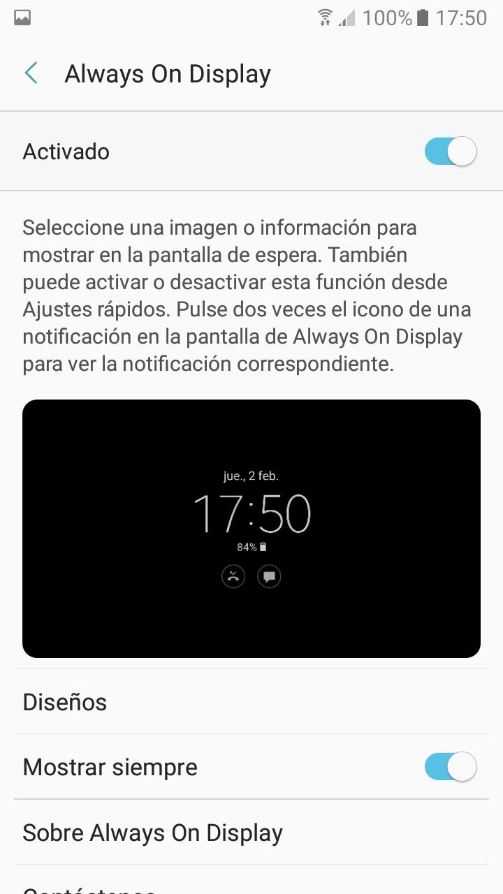 Foto de Imágenes del software del Samsung Galaxy A3 2017 (13/20)