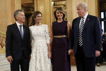 Ivanka Trump eclipsa a Melania en la ópera de Argentina