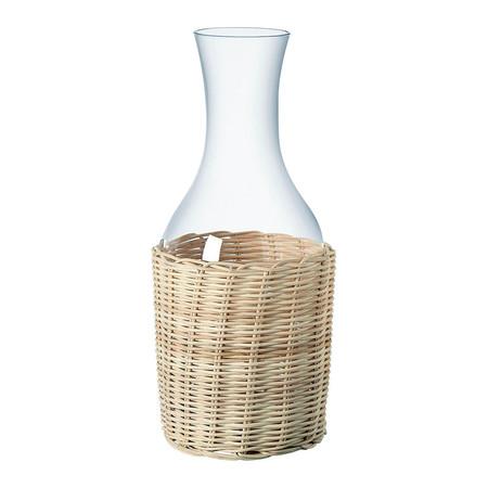 Botella De Vidrio Con Funda De Fibra Aveiro El Corte Ingles 19 95eur