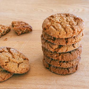 Receta de galletas de jengibre y miel, crujientes y aromáticas