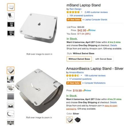 Imagen Amazon Soportes