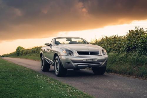 El Heuliez Intruder es un loco todoterreno cupé-cabrio que esconde un Mercedes G 320. Y busca nuevo hogar