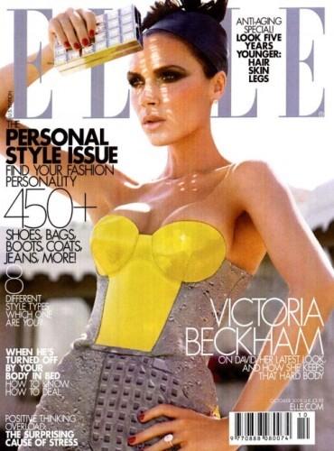 Victoria Beckham, espléndida para Elle Magazine