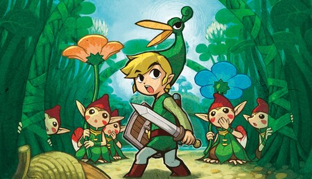 Portada Zelda Minish