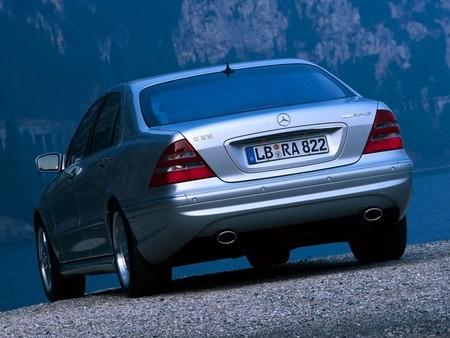 Mercedes S 55 AMG (W220, 2001-2002)