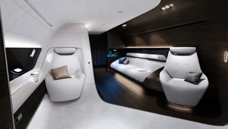 Las cabinas VIP de Mercedes-Benz y Lufthansa Technik, soluciones innovadoras para aviones de lujo