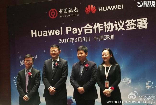 Huawei estaría preparando su sistema de pago para traerlo a Europa