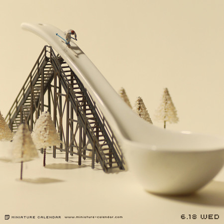 Miniature Calendar Tatsuya Tanaka 9