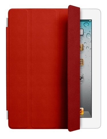 Smart Cover red leather
