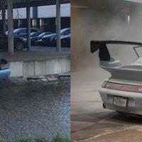 Dolorpasión™: Un Porsche se incendia y otro más se tira al agua