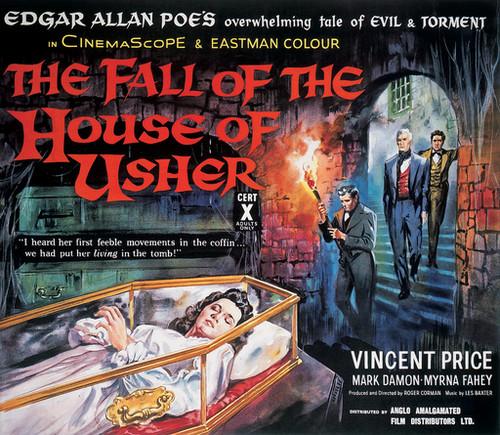 Roger Corman/Edgar Allan Poe (I): 'La caída de la casa Usher'