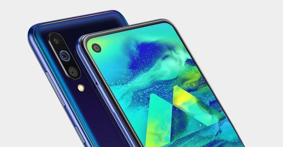 Samsung Galaxy℗ M40: el mayor de la familia llega con agujero en pantalla Infinity-O y altavoz bajo el panel