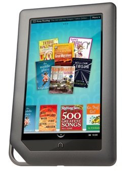 El Nook Color quiere evolucionar a tablet Android