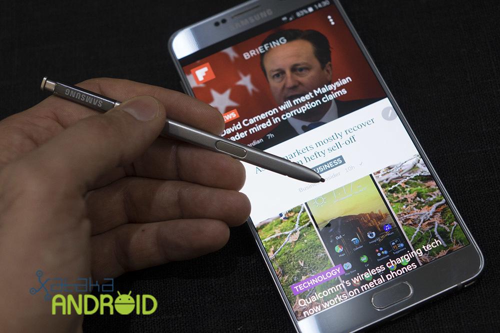 Foto de Samsung Galaxy Note 5 y Galaxy S6 edge+ (11/18)