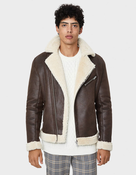 Bershka Chaquetas Borreguillo Sherling Jacket Trendencias Hombre Fall Winter 2019