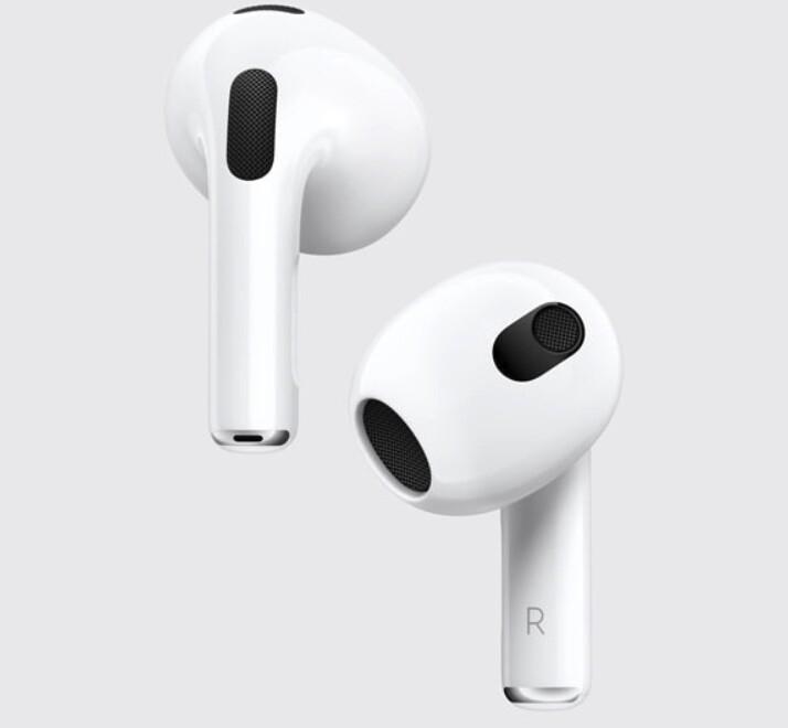 """AirPods (3ª generación): los nuevos auriculares TWS de Apple llegan con hasta 30 horas de autonomía y soporte para """"audio espacial"""""""