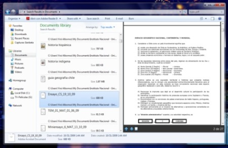 Vista Previa de PDFs en Windows 7 de 64-bits