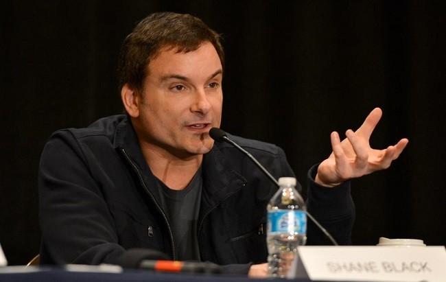 El director y guionista Shane Black