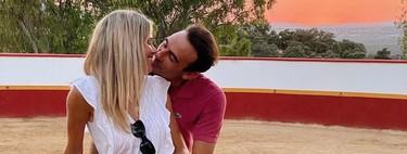 Capea de pasión: Ana Soria sube foto con Enrique Ponce donde hacen la cucharita y se dan besito de esquimal