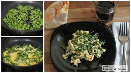 Salicornia Cocinada