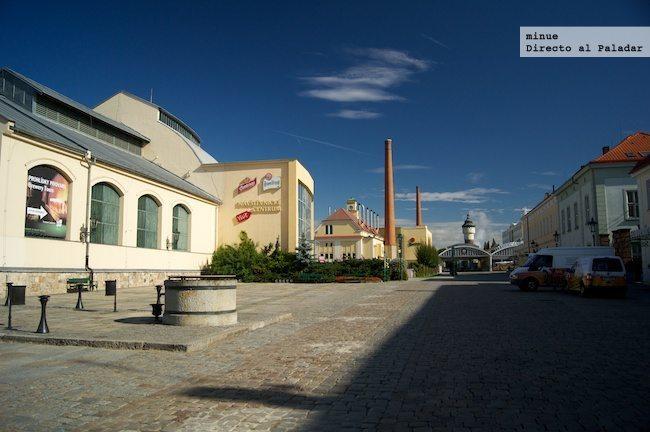 Elaboración Pilsner Urquell - fábrica