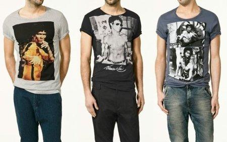 Camisetas de Zara con Bruce Lee como protagonista