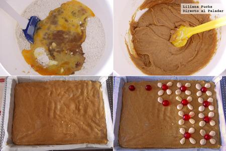 Pastelitos de miel y especias. Pasos