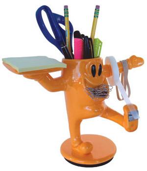 Divertido organizador de escritorio