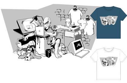Maquero multitarea: La camiseta