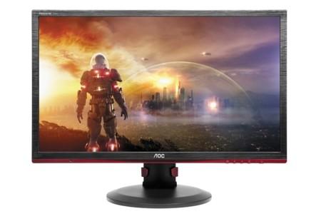 AOC es el siguiente con dos monitores AMD FreeSync que trabajan a 144 Hz