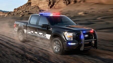 ¡Llegaron los refuerzos! Así luce el Ford Police Responder 2021, la variante de la F-150 para uso policiaco