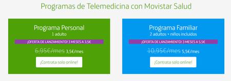 Los dos planes de Movistar Salud