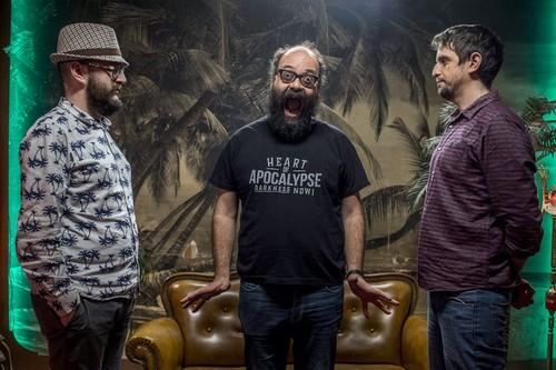"""Entrevista a Ignatius Farray: """"Una regla de 'El fin de la comedia' es renunciar a cualquier chiste"""""""