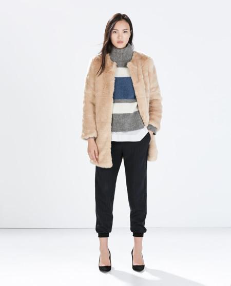 Abrigo faux fur
