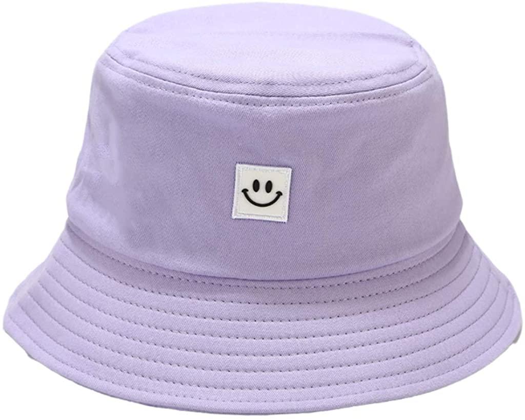Bucket Hat en malva de Amazon