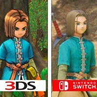 Dragon Quest XI luce fetén en Switch comparado con las versiones de PS4 y 3DS