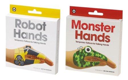 A jugar con las manos: Robot Hands y Monster Hands