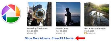 Picasa multiplica por diez sus posibilidades de catalogar imágenes en álbumes de fotos