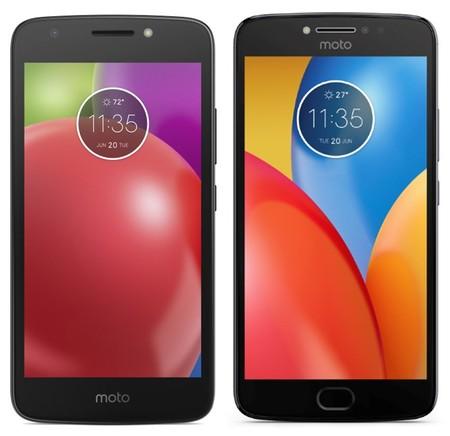 Moto E4 y E4 Plus, nuevas imágenes de los smartphones de Motorola, sin y con sensor de huellas