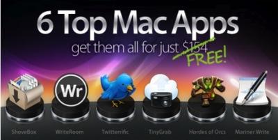 MacHeist nanoBundle, 6 aplicaciones comerciales de Mac OS X gratuitas por tiempo limitado