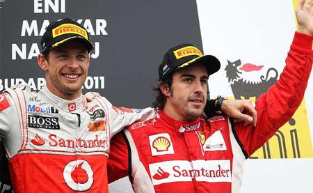 Jenson Button recibió una oferta de Ferrari el año pasado