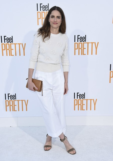 i feel pretty red carpet Amanda Peet