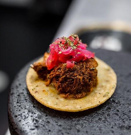 Taco De Cochinita De Punto Mx