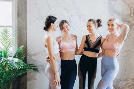 Group Of Fit Women 3822777