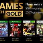 Aquí tienes los juegos del Games with Gold de agosto