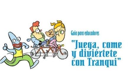 Juega, come y diviértete con Tranqui: Campaña contra la obesidad infantil en Navarra